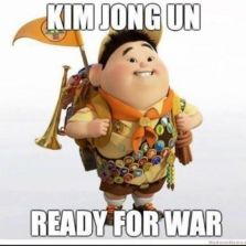 Kim Jong Un ready for war
