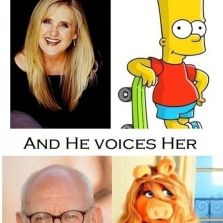 Cartoons voiced by